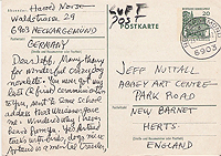 Harold Norse to Jeff Nuttall, 23 Dec 1967