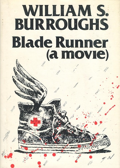 William S. Burroughs, Blade Runner, published by George Mattingly's Blue Wind Press, 1979