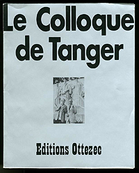 William Burroughs and Brion Gysin, Colloque de Tangers