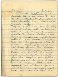 William S. Burroughs, Latin American Notebook, First Page