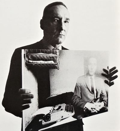 William S Burroughs, Le Metro Blanc, front cropped