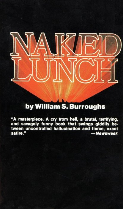 William S. Burroughs, Naked Lunch, 1990 Grove Press reprint