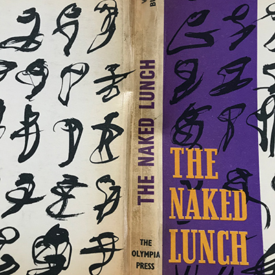 Fat Boy Naked Lunch with extra scoring lines visible in the spine