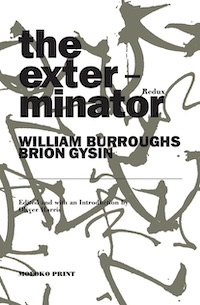 William Burroughs, The Exterminator, Moloko, 2020, front cover