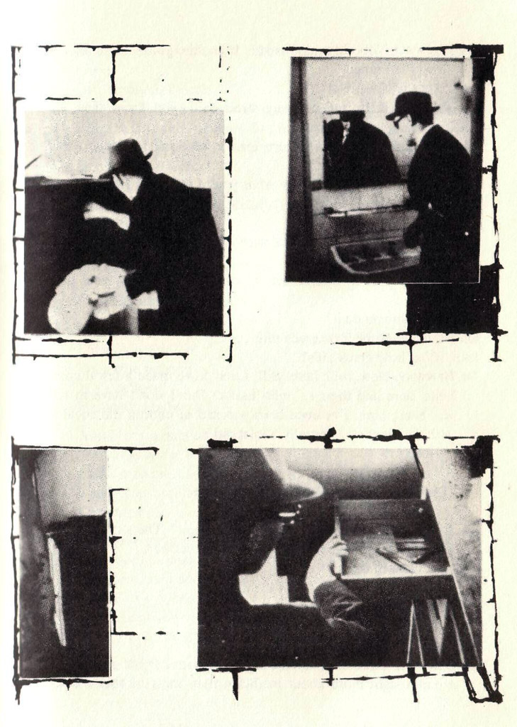 William Burroughs, Collage from The Third Mind