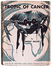 Henry Miller, Tropic of Cancer, Obelisk Press