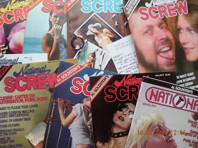 Collection of National Screw magazines