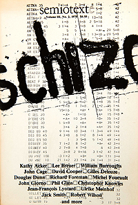 Semiotext(e) Schizo-Culture Issue