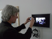 Ian MacFadyen photographing film by Alfred 23 Harth