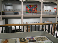 View of galleries in ZKM exhibit