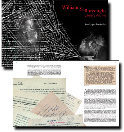Burroughs literary archive at the New York Public Library