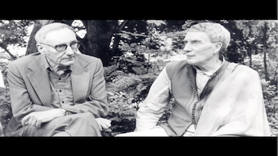 William S. Burroughs and Brion Gysin, Still from the FLiCKeR DVD