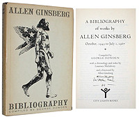 George Dowden, A Bibliography of Works by Allen Ginsberg, City Lights, 1971