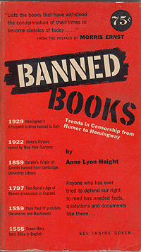 Anne Haight, Banned Books