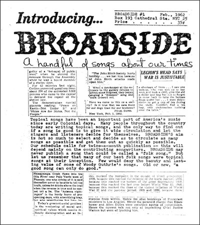 Broadside #1