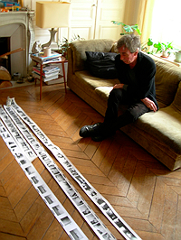 Terry Wilson and Photo Rolls by Brion Gysin