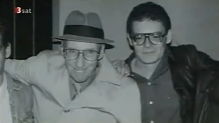 William Burroughs and Carl Weissner