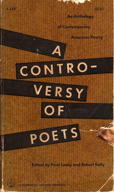 Charles Olson, A Controversy of Poets
