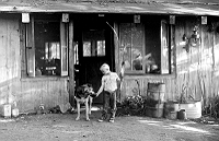 Charles Rotmil, Boy in Front of House near Henry Miller's House