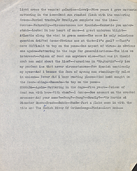 William Burroughs' introduction to Jacques Stern's The Fluke, previously unpublished manuscript draft, page 2