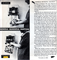 Jan Herman, General Municipal Election, Back, 1969