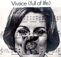 Jan Herman, Vivace, Collage, 1974