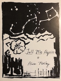 Alice Notley Tell Me Again, Am Here Books