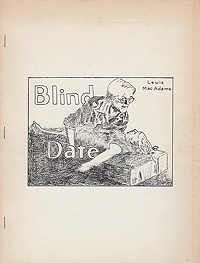 Lewis MacAdams, Blind Date, Am Here Books, 1981