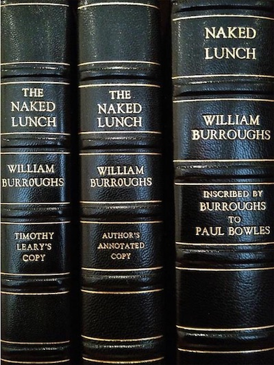 Artist Richard Prince's extraordinary collection of William S. Burroughs' Naked Lunch