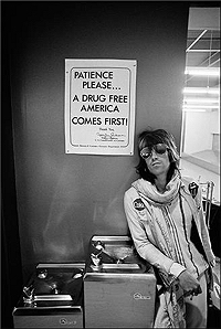 Keith Richards on tour in 1972