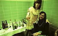 Keith Richards with Terry Southern, 1972