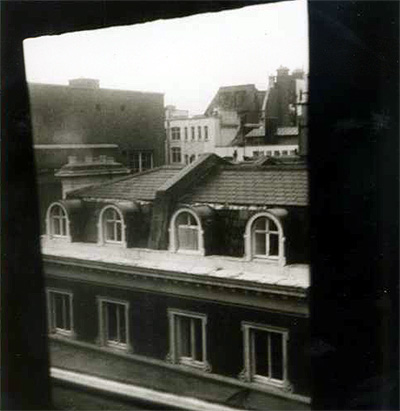 The view from 8 Duke Street, St James (photo by William Burroughs)