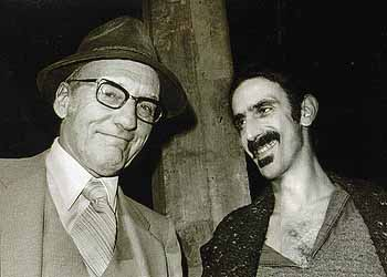 William Burroughs and Frank Zappa at the Nova Convention