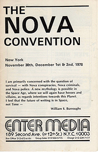 Nova Convention Program